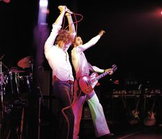 Roger Daltrey and Pete Townshend (photo by David Redfern)