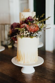 Browse our large selection of wedding venues, planning, styling and catering options. Fall Theme Cakes, Themed Cakes, Golden Cake, Wedding Cakes, Wedding Venues, Byron Bay Weddings, Big Cakes, Pretty Cakes, Autumn Theme