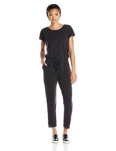 ae2add87371 Amazon.com  Splendid Women s Sandwash Jersey Jumpsuit
