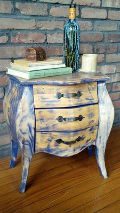 A small whimsical chest of drawers. Rustic by FavorHouseAtlantic, $200.00