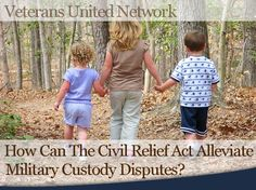 Military Custody Disputes - Regardless of where you are at in a custody process, it's always a good idea to be prepared. Talk to your lawyer and ask about the SCRA and how it can apply to you.