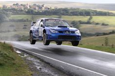 Stephen Simpson/Patrick Walsh - Subaru Impreza WRC - Mewla Rally 2011 by Paul Healey, via 500px
