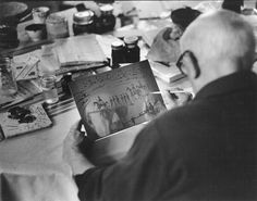 Picasso at work. From the viewpoint of David Douglas Duncan