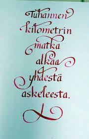 kalligrafia aakkoset - Google-haku