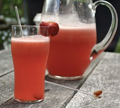 Strawberry Lime Ade!