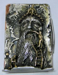 vintage solid 18 K gold silver Belt buckle by TRIBALEXPORT on Etsy, $2799.00