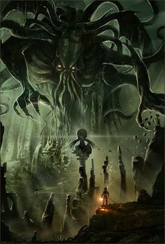 Cthulu - I'll bet he doesn't get bothered by people knocking on his door trying to get him to change his energy supplier.