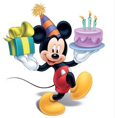 Mickey Mouse let's Party Disney Micky Maus, Mickey E Minie, Happy Birthday Mickey Mouse, Mickey Mouse And Friends, Minnie Mouse, Theme Mickey, Mickey Party, Disney Images, Disney Pictures