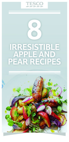 Make the most of stunning, seasonal apples and pears by turning these fruit bowl favourites into something spectacular with our irresistible recipes and ideas. | Tesco