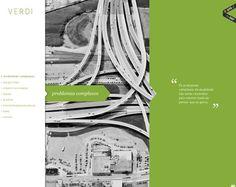 Clean Web Design Layouts   Inspiration   a vertical approach :) yam,yam   verdi.com.br