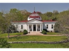 Centennial Hall house, Franklin, TN. Originally the Knights of Pithias building at the TN Centinial Exposition (at Centinial Park 1897). A man bought it and had it moved by wagon and mules to the Hwy 96 location as a wedding present for his fiancee. She came down from New York, saw the house, said it was t h e ugliest building she'd ever seen, broke the engagement and went back to NY. LOL!