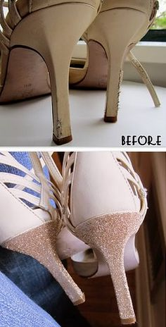 forrar tacón zapatos