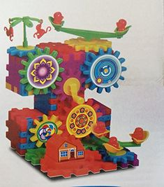 Zvation Motorized Blocks A Fun Way To Learn Colors And Shapes  Playful Way To Build Your Childs Creative Skills And Imagination  Intellect Toy Educational Toys for Boys and Girls >>> Visit the image link more details.