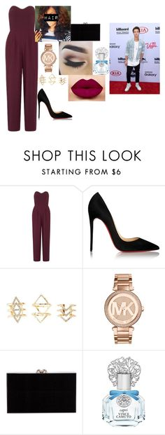 """""""Kids Choice Awards w/ Cameron"""" by futuremrsgilinsky on Polyvore featuring Love, Christian Louboutin, Charlotte Russe, Michael Kors, Charlotte Olympia, Vince Camuto and Britney Spears"""