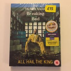 Breaking bad - #series 5 - #complete (blu-ray, #2013, 2-disc set),  View more on the LINK: 	http://www.zeppy.io/product/gb/2/282222657643/