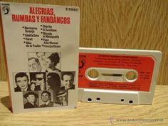 ALEGRÍAS, RUMBAS Y FANDANGOS. VARIOS ARTISTAS (LEER) MC / DISCOPHON - 1974 / CALIDAD LUJO.