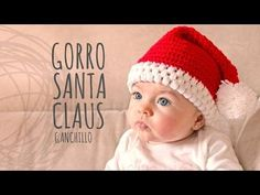 Tutorial Gorro Papá Noel Ganchillo o Crochet, My Crafts and DIY Projects
