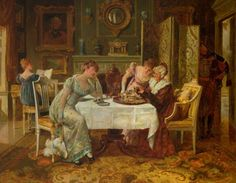British Paintings: Henry Gillard Glindoni - A Fortune in a Tea Cup goldenagepaintings.blogspot.com1063 × 825Buscar por imagen Henry Gillard Glindoni - A Fortune in a Tea Cup Henry Gillard Glindoni . The Flower Girl - Buscar con Google