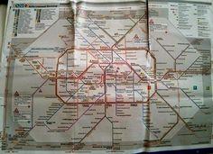 Berlin train map