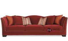 Kirkland Large Sofa with Down-Blend Cushions by Bernhardt Interiors at Savvy Home. $2,276.00