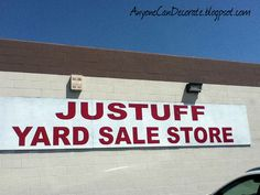 Found this fun store today... Lots of great stuff, posted tons of pics on my blog.