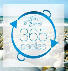 Fotolog de paellas (1 diferente cada día durante 1 año) del restaurante El Tresmall.