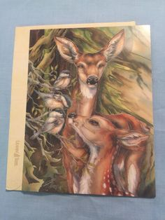 A personal favorite from my Etsy shop https://www.etsy.com/listing/534198849/wildlife-birthday-greeting-card-so-deer