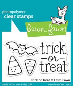 Lawn Fawn - Trick or Treat Stamp Set