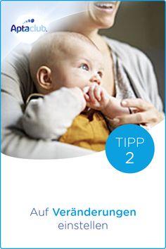 Fläschchen geben: Nicht nur die Saugbewegung ändert sich für dein Baby, wenn du auf Fläschchennahrung umstellst. Noch mehr Infos dazu findest du auf aptaclub.at. Wichtiger Hinweis: Stillen ist die beste Ernährung für dein Baby.