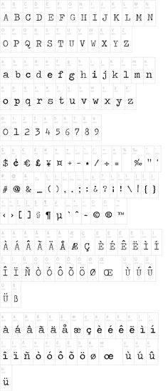 Traveling Typewriter font by Carl
