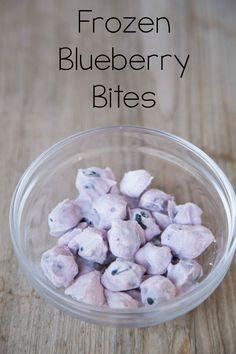 Frozen Blueberry Bites on 5DollarDinners.com