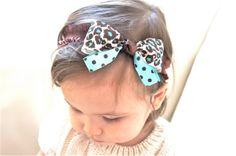 Tiffany Blue BabyLeopard Print Baby by ForeverFancyBaby on Etsy, $11.99
