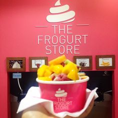 "@movenda_nini's photo: ""#thefrogurtstore #fronzenyogurt #Wellington good to have a try...☀️"""