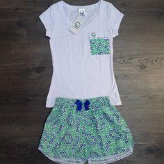 Resultado de imagen para pijamas de mujer de algodon Boho Shorts, Casual Shorts, Night Wear, Lingerie Sleepwear, Baby Dolls, Sewing, How To Wear, Clothes, Outfits