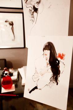 The Cherry Blossom Girl - Cartier Marc Antoine Coulon Portrait 10