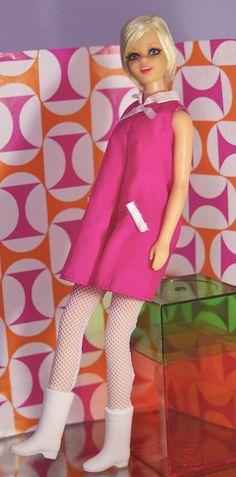 Vintage Twiggy Barbie doll by RomitaGirl67, via Flickr