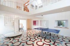 Fabulous atrium with table tennis and Penrose floor Luxury Holidays, Atrium, Scotland, Tennis, Cottage, Flooring, Table, House, Home Decor