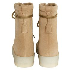 YEEZY SEASON 2 Men s Crepe Boot Listed in European sizes Suede upper  Leather lined Gum crepe outsole Made in Spain All sales are Final. 5d67b3fb4