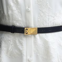 Givenchy Black Double G Plaque Buckle Belt - Meghan Markle s Belts a62060269d1