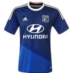 Great Choose Get Olympique Lyon Away Soccer Jersey Shirt - Free Printing & Customized From Tensoccer Soccer Kits, Football Kits, Psg, Maillot Ol, Jersey Shirt, T Shirt, J League, Lyonnaise, Adidas