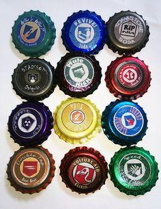 NERD ALERT Call of Duty Zombie Perks Bottlecap Pins. by LeSaul