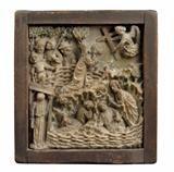 Lot No. 651 Gothic alabaster relief, Christ on the Mount of Olives, Austria ca. Baroque, Renaissance, Gothic, Mount Of Olives, Art Furniture, Austria, Christ, Sculptures, Porcelain
