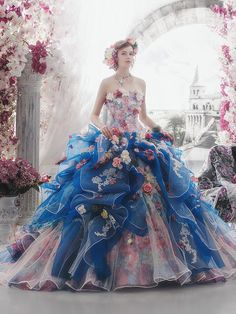 Colorful Wedding Dresses by Stella De Libero @Maysociety