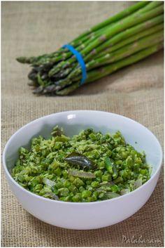 Asparagus Thoran / Asparagus Stir Fry with coconut