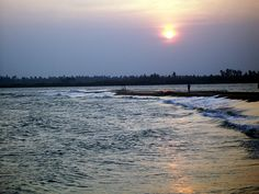 Sunset at Paradise Beach, Pondicherry