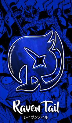 Fairy Tail Wallpapers Mobile : Raven Tail by Fadil089665
