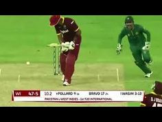 Pakistan Vs West Indies 3rd T20 2016 West Indies Fall Of Wickets Highlights