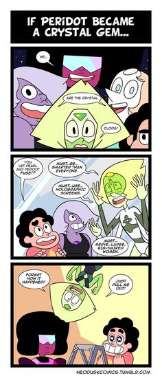 Steven Universe: Peridot Joined Your Party by Neodusk.deviantart.com on @DeviantArt