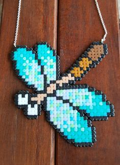 So cute necklace! Made with mini beads. 925 Silver plated necklace, 50 cm long (20 inches). Dragonfly measures about 10,5 x 9,5 cm (4,13 x 3,74 in). IMPORTANT NOTE: If you want to buy TWO or more of my products, please send me a message and I will calculate a new combined shipping fee