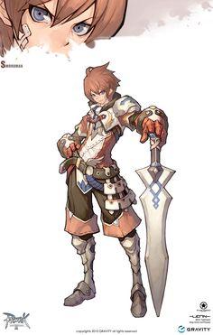 ✧ #characterconcepts ✧ Swordman in Ragnarok Online 2: Legend of the Second - MMORPG